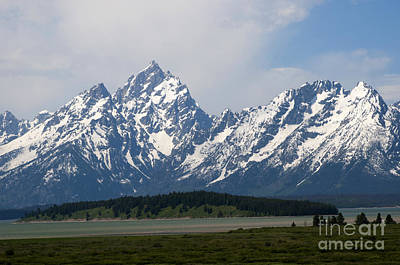 Photograph - Grand Tetons And The Snake River by Brenda Kean