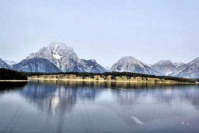 Photograph - Grand Tetons by Bill Hosford