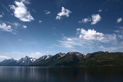 Photograph - Grand Tetons by Shane Bechler
