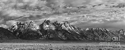 Photograph - Grand Tetons Majesty II by Sandra Bronstein