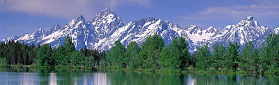 Magnificent Mountain Image Photograph - Grand Tetons National Park Wy by Panoramic Images