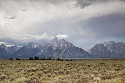 Grand Thunder - Grand Teton National Park - Wyoming Original by Diane Mintle