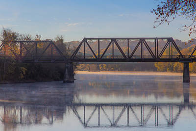 Photograph - Grand Trunk Railroad Bridge by Donna Lee