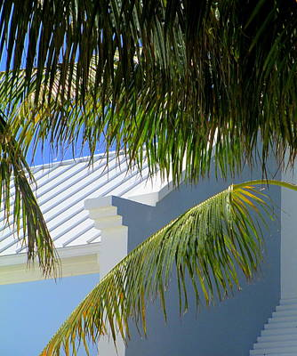 Grand Turk Architecture Art Print by Randall Weidner