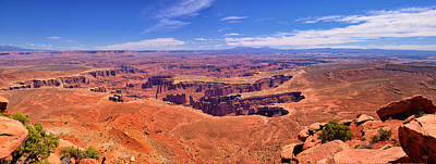 Photograph - Grand View Panorama by Greg Norrell