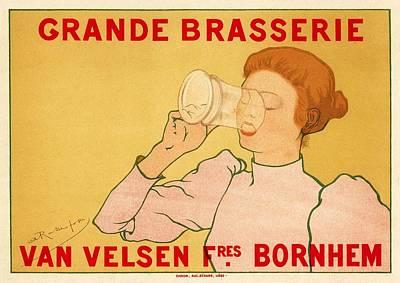 Belle Epoque Photograph - Grande Brasserie by Gianfranco Weiss