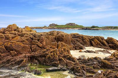Grandes Rocques Fort - Guernsey Art Print