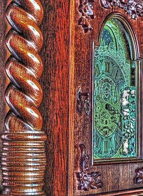Photograph - Grandfather Clock by Cathy Jourdan