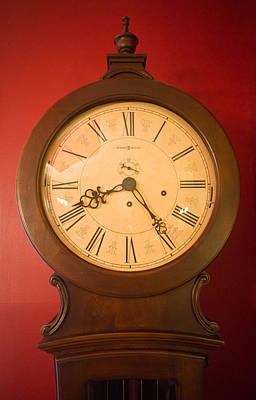 Grandfather Clock Top 1 Print by Douglas Barnett