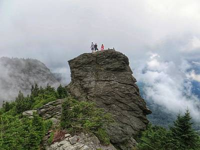 Grandfather Mountain Hikers Art Print