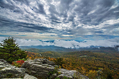 Grandfather Mountain Art Print by John Haldane