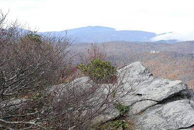 Photograph - Grandfather Mountain Rock Outcropping by Misty Stach