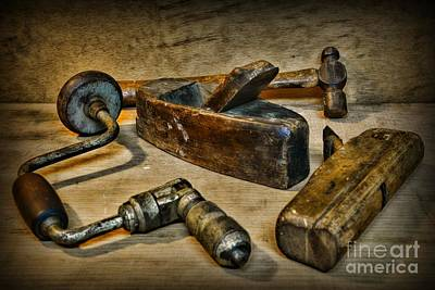Grandfathers Tools Art Print