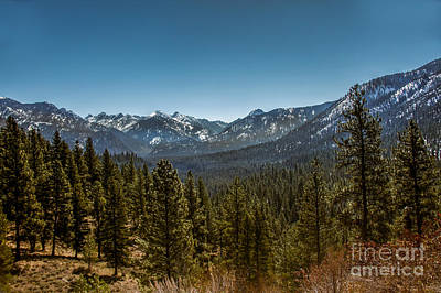Outlook Photograph - Grandjean Valley View by Robert Bales