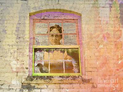 Digital Art - Grandma At The Window by Desiree Paquette