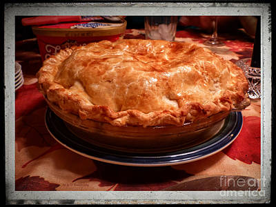 Digital Art - Grandma's Best Apple Pie by Dee Flouton