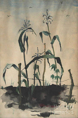 Painting - Grandma's Corn by Art By Tolpo Collection