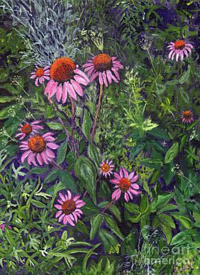 Grandma's Garden Art Print
