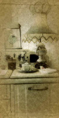 Photograph - Grandma's Kitchen by Bonnie Bruno