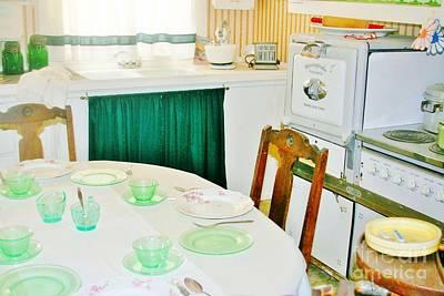 Photograph - Grandmas Kitchen by Marilyn Diaz