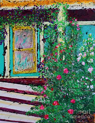 Grandma's Porch Art Print by Alys Caviness-Gober
