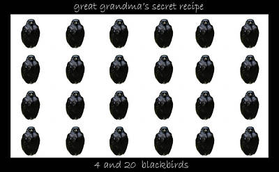 Grandmas Secret Recipe Art Print by Jennifer Muller