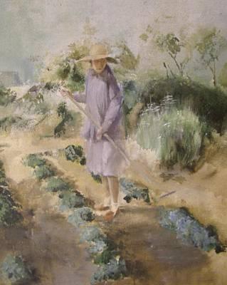 Grandmother Margaret's Garden Art Print