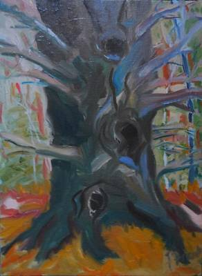 Painting - Grandmother Pine by Francine Frank