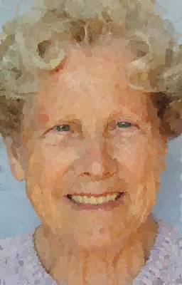 Digital Art - Grandmother by Samuel Majcen