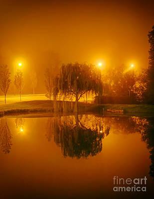 Photograph - Grandover At Night by Dan Carmichael