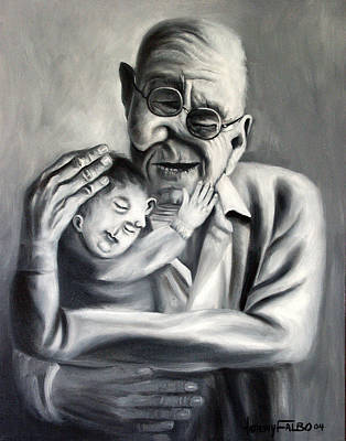 Painting - Grandpa by Anthony Falbo