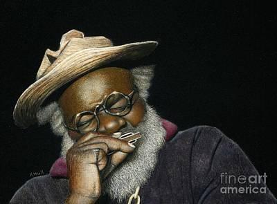 Grandpa Elliott In Miniature Art Print