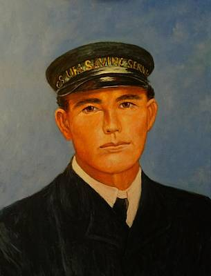 Galveston Painting - Grandpa Peterson by Charles Munn