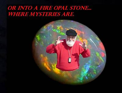 Digital Art - Grandpa's Fire Opal  by Gracia  Molloy