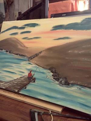 Grandpa's  Passion  Art Print by Renee McKnight