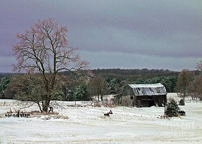 Photograph - Grandpa's Winter by Christian Mattison