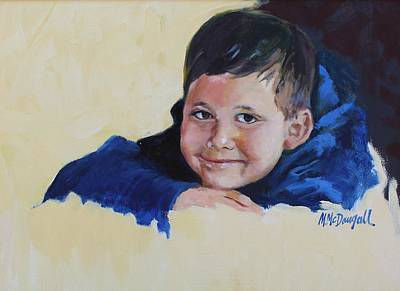 Painting - Grandson by Michael McDougall