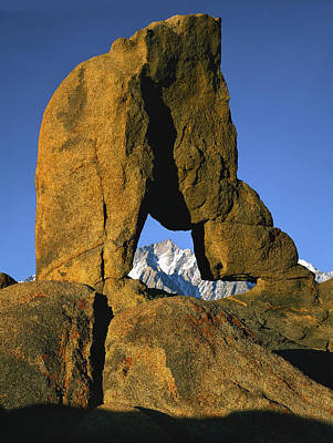 Photograph - Granite Arch by Paul Breitkreuz