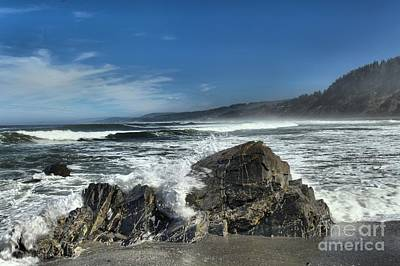 Photograph - Granite Breakers by Adam Jewell
