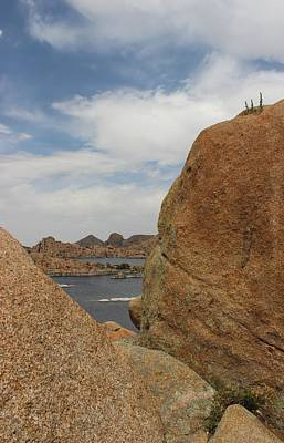 Granite Dells Boulders Arizona Art Print by Robert W Smith