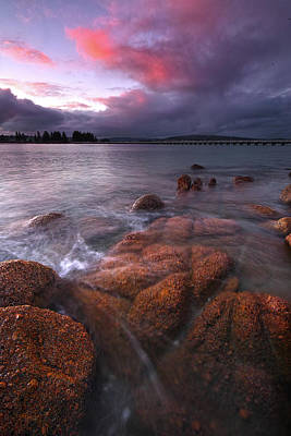 Photograph - Granite Island At Victor Harbor by Edmund Khoo Photography