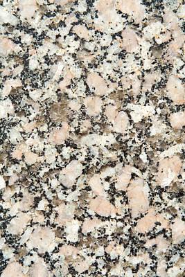 Speckled Granite Photograph - Granite  by Jim Pruitt