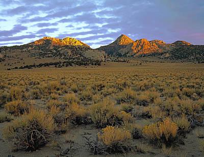 Photograph - Granite Mountain Sunrise by Paul Breitkreuz