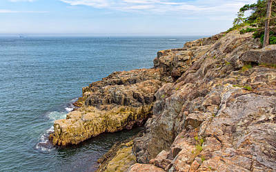 Photograph - Granite Shore by John M Bailey