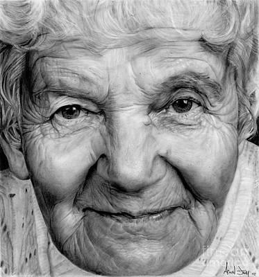 Grannies 12#03 Art Print by Arual Jay