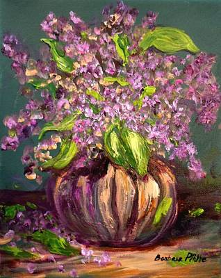 Painting - Granny Mabry's Lilacs by Barbara Pirkle