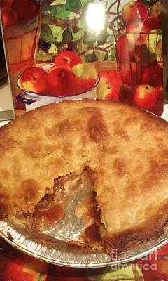 Photograph - Granpas Mock Apple Pie by Jennifer E Doll