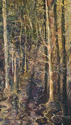 Granpepere's Woods Art Print