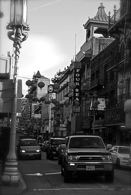 Photograph - Grant Avenue Chinatown San Francisco by Michele Myers