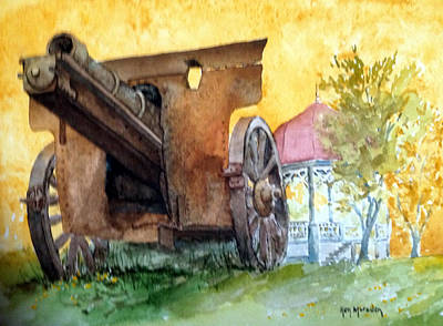 Painting - Grant Park-galena 91914 by Ken Marsden